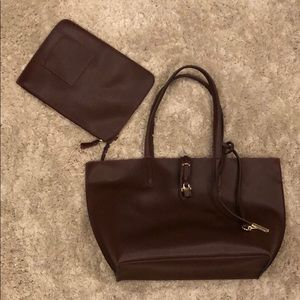 """Tutilo """"Carry the Day"""" Tote and Pouch NWT"""